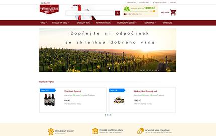 reference Vinogalerie nové webové stránky