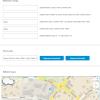 Backend pluginu mapy cz pro a výsledná mapa